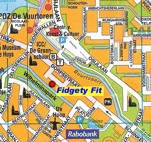 Fidgety Fit routebeschrijving